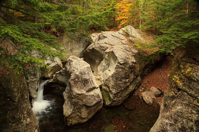 Bingham Falls à l'automne