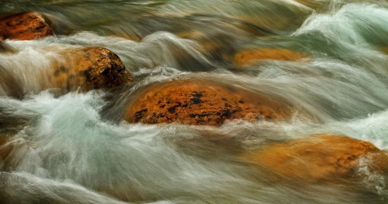 Rapides dans le Canyon Johnston