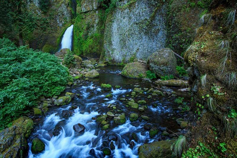Wahclella Falls et cascades