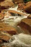 Cascade en zigzag sur le ruisseau Dry Brook
