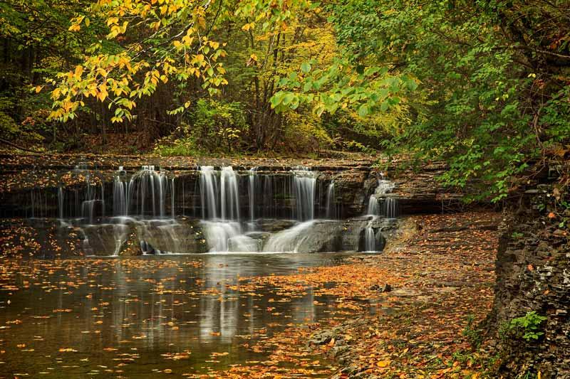 Cascades de Enfield Creek