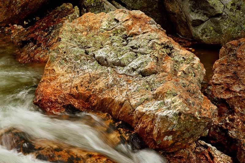 Ellis River et rocher