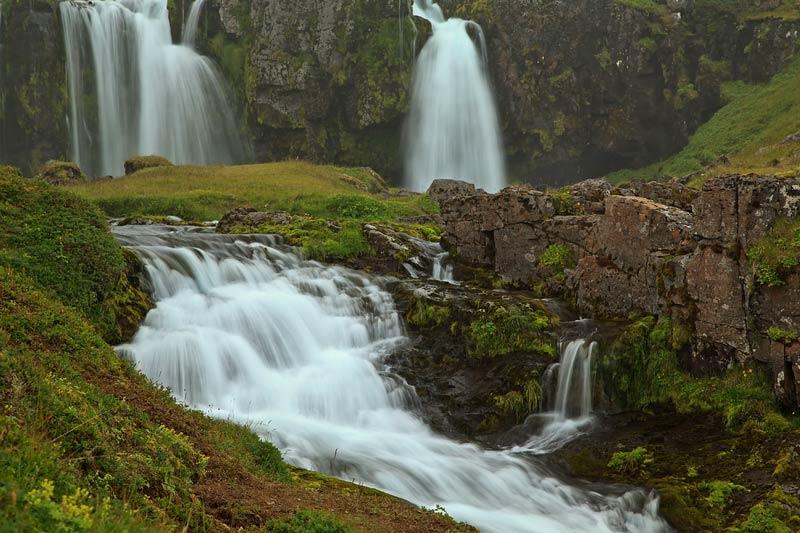 Cascade de Kirkjufellfoss