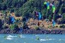 Compétition de kite surfing