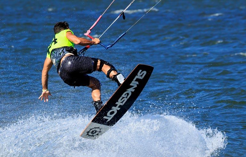 Saut de kite surfing 3
