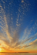 Lever de soleil à Seawall - Vertical
