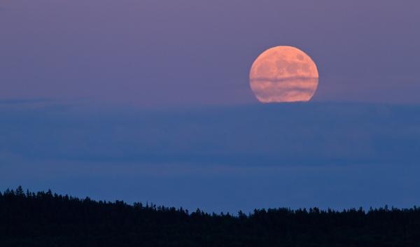 Lever de pleine lune 1