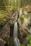Canyon Maligne - Vue du premier pont