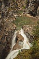 Canyon Maligne - Vue du troisième pont