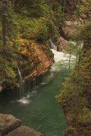 Canyon Maligne - Vue du quatrième pont