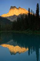 Mont Burgess au coucher du soleil
