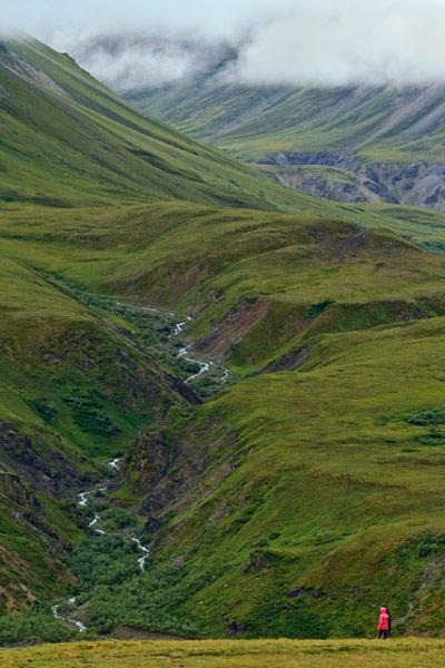 Montagnes près du Eielson Centre