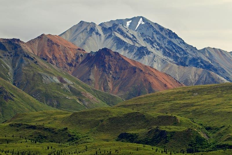 Monts tricolores