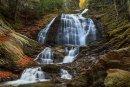 Moss Glenn Falls à l'automne