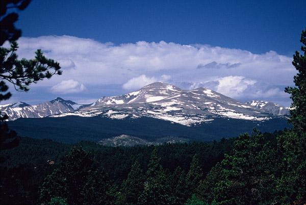 Vision des Rocheuses - Rocky Mountains NP, Colorado
