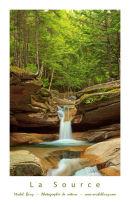 La Source - Upper Sabbaday Falls - Affiche