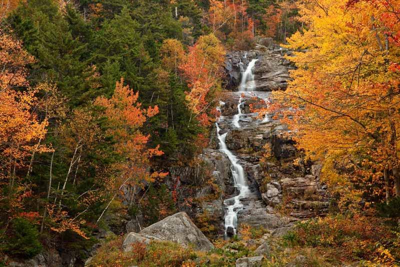 Silver Cascade à l'automne