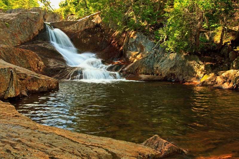 Small Falls - 3e chute et bassin