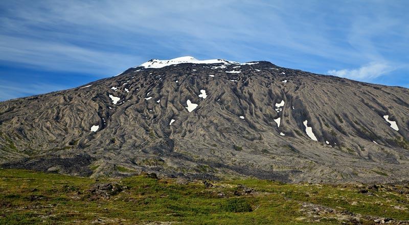 Face sud du Snaefellsjokull