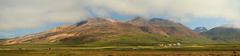 Ferme typique de l'Islande