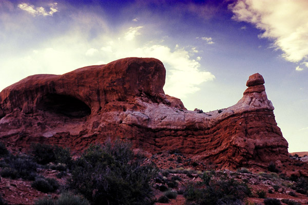 Le dragon - Arches NP, Utah