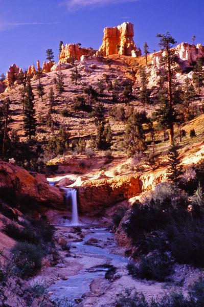 Chute de Mossy Cave - Bryce Canyon NP, Utah