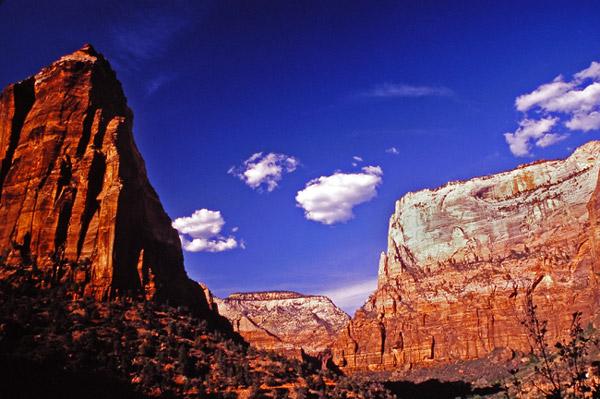 Le canyon de Zion - Zion NP, Utah