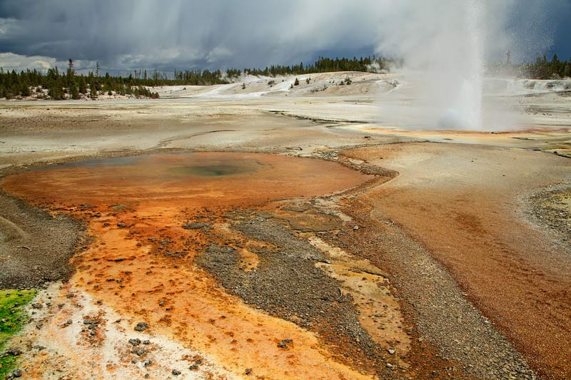 Constant geyser
