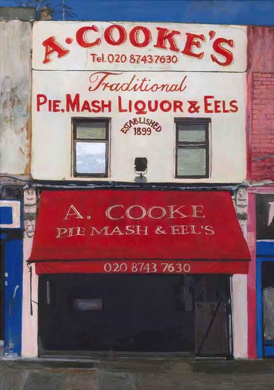 A Cooke Pie, Mash, Liquor & Eels