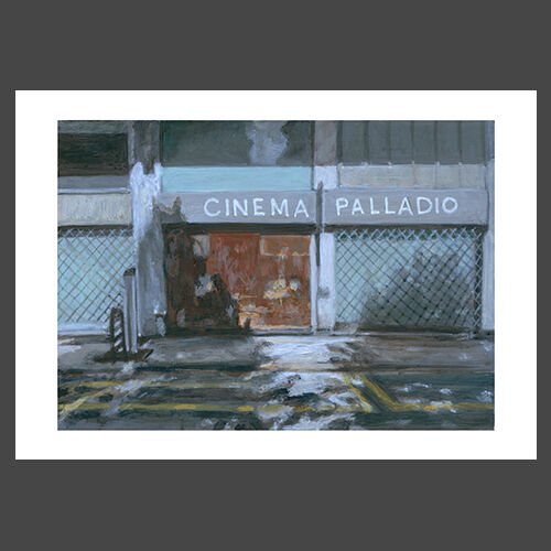Cinema Palladio - Limited edition reproduction print - £65 - £120
