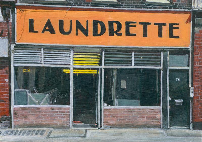 Launderette Bloomsbury
