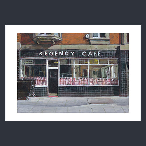 Regency Cafe  - Limited edition reproduction print - £65 - £120