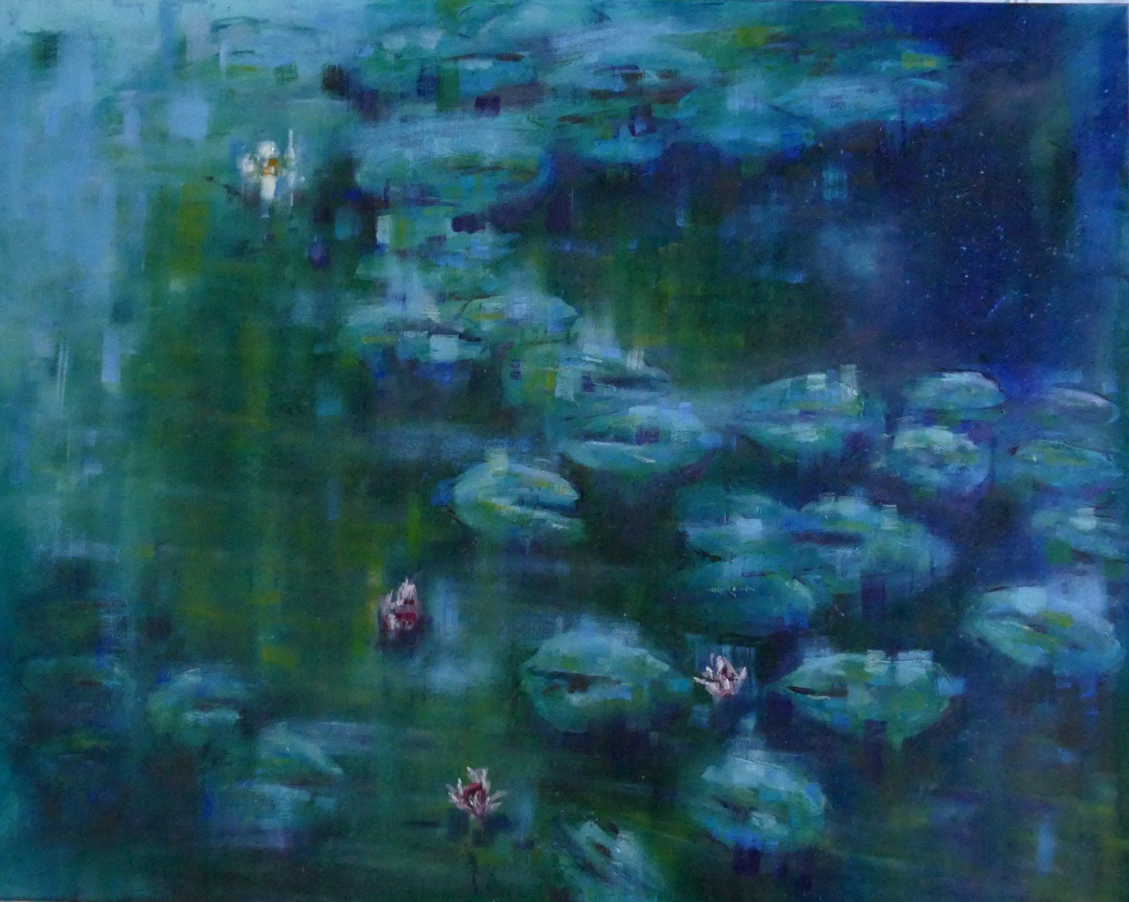 Large Lily Pond after Monet
