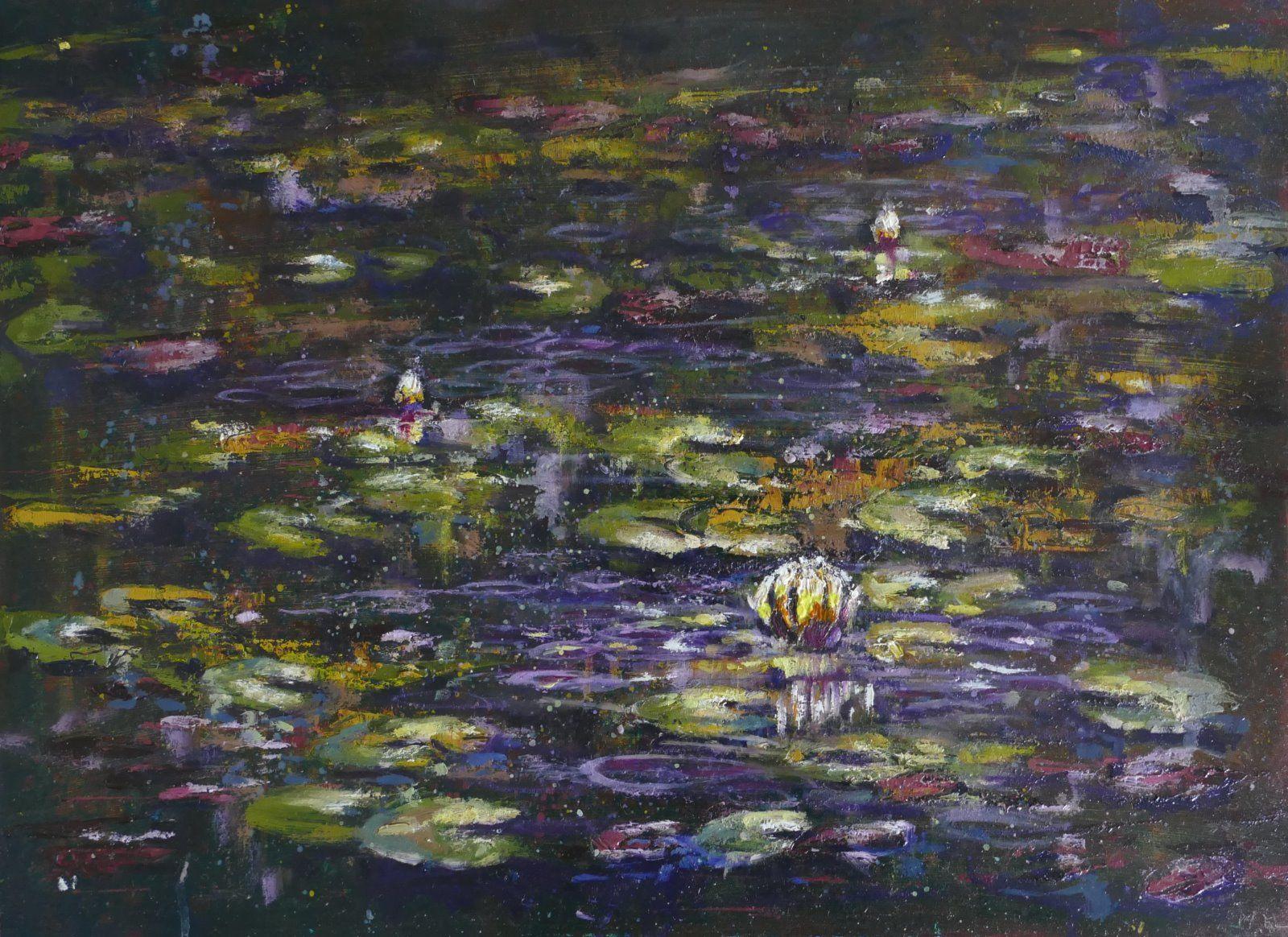 Dark Lily Pond