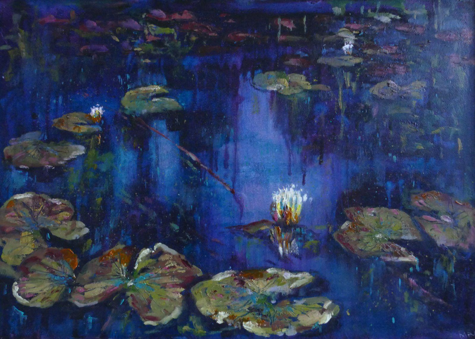 Violet Lily Pond