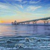 Clevedon Pier 65x50cm framed £850