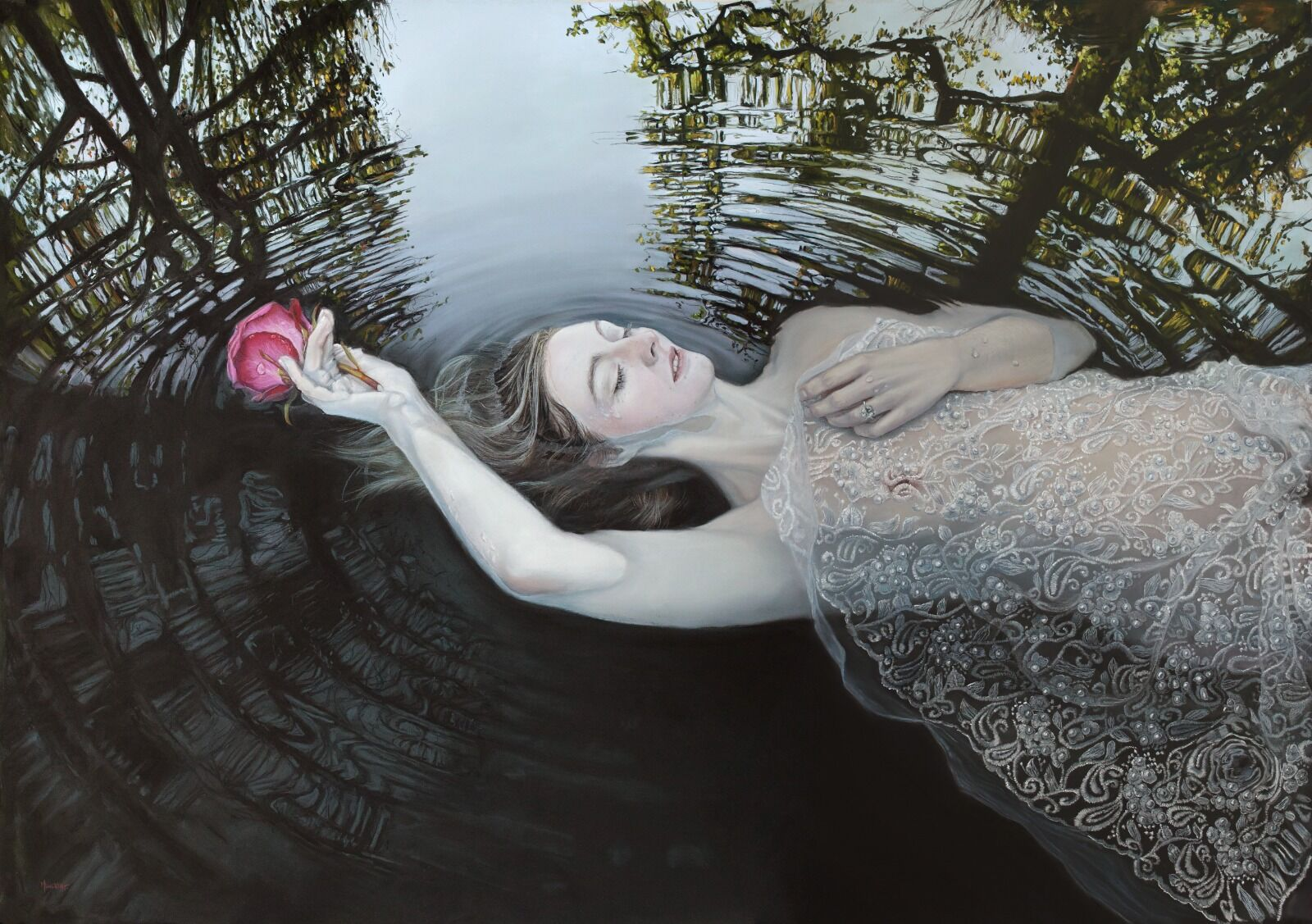 Swan Song - original available soon. Please email me with enquiries michelle.lucking@hotmail.co.uk