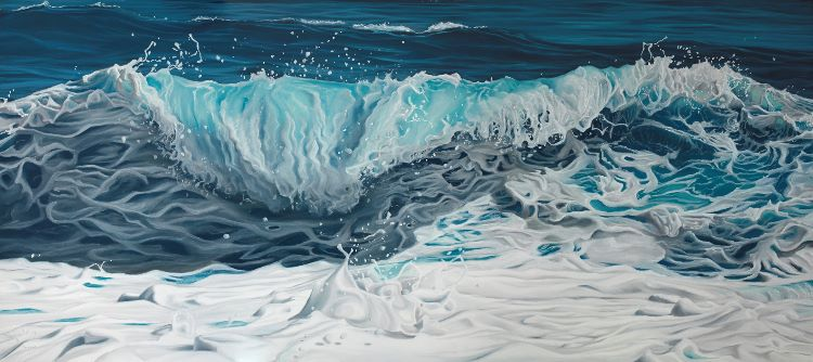 Unleashed, 2017,150x55cm (sold)
