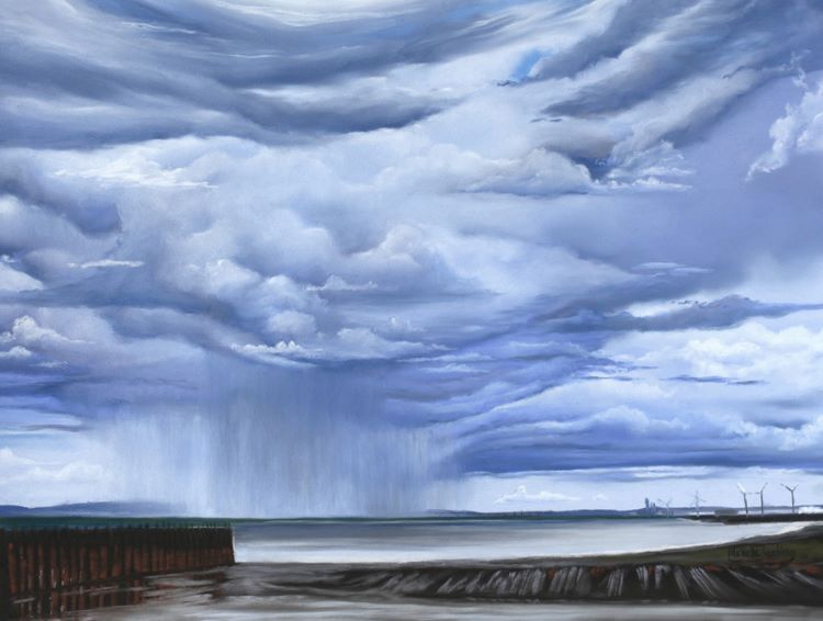 storms over severn bridge (sold)