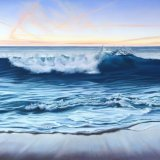 twilight wave 115x65cm (sold)