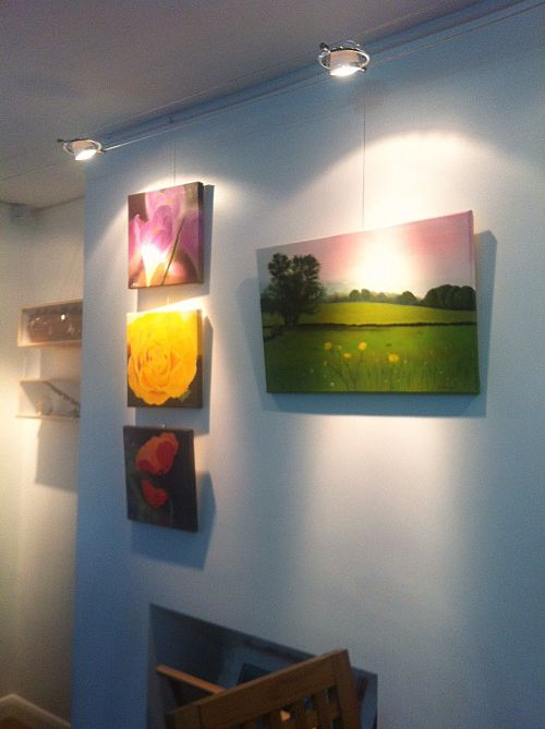 Exhibition at The ArtHouse Cafe, Deli and Gallery in Penistone, Sheffield