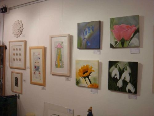 Exhibition at the Artroom Gallery, Garstang, Lancashire