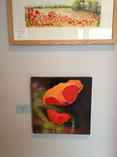 Exhibition at The Little House of Art, Glastonbury May-July 2013