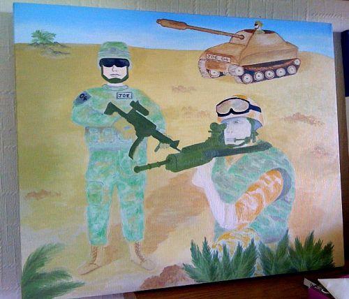 Army theme
