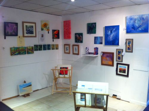 Pop-Up Gallery at Park Farm July 2012