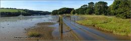 Tidal road, Aveton Gifford.