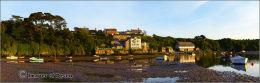 Bantham quay sunset
