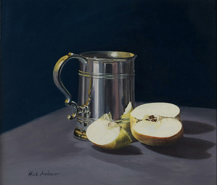 Tankard and Apple