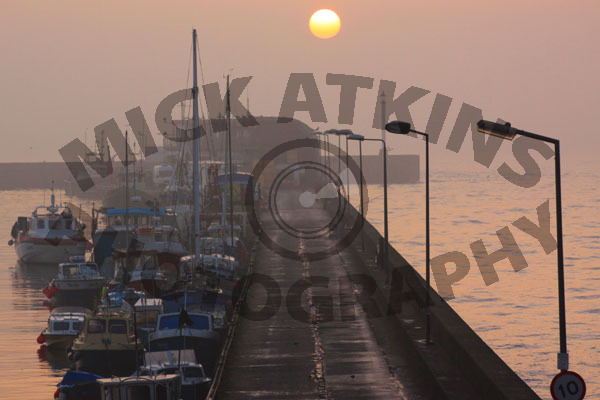 Sunrise - Bridlington Harbour