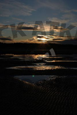 Findhorn Bay Sunset